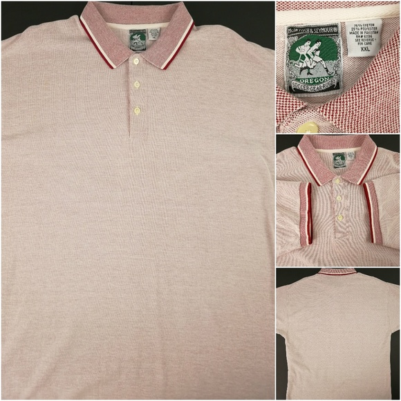 e653a52c427 Men's Polo Rugby XXL Shirt Pique Red Collar. M_5a818b231dffdaee500fb594